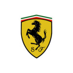 ferrari logo logotipe old