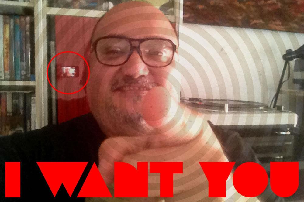 I want YOU Del medio es el mensaje a el target es el mensaje pato giacomino comunicacion visual