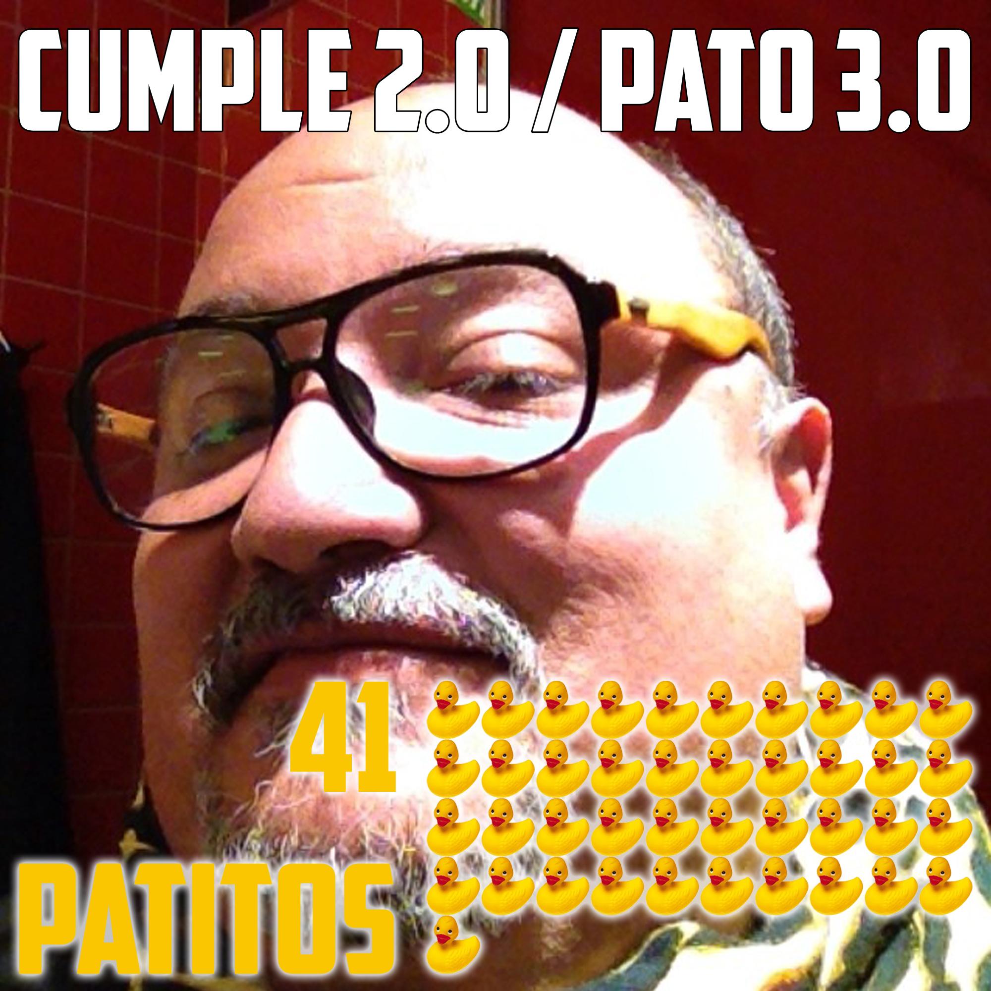 El cumpleaños 2.0 y el PATO 3.0 MUCHAS GRACIAS DE CO-RAZÓN!