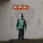 foto opinion 2 BANSKY inlovewiththewayyoutouchme tumblr